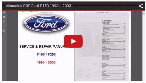Vídeo Manuales Ford F150 1993 a 2003