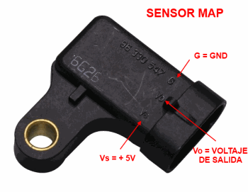 Sensor MAP Manifold Absolute Pressure