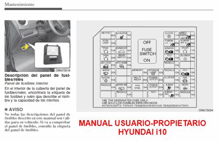Manual Usuario Propietario Hyundai I on Diagrama De Transmision Automatica