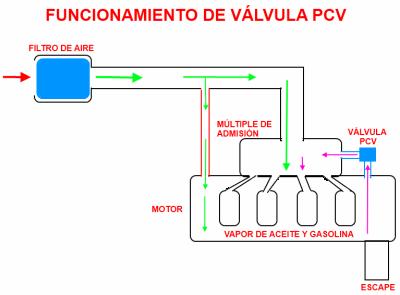 V 225 Lvula Pcv Sistema De Ventilaci 243 N Positiva Del C 225 Rter