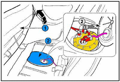 Ubicación de bomba de gasolina
