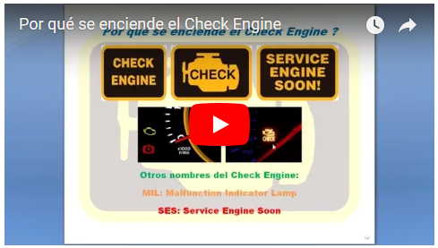 Por qué se prend ele Check Engine?