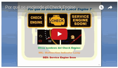 Vídeo: Por qué se enciende el Check Engine?