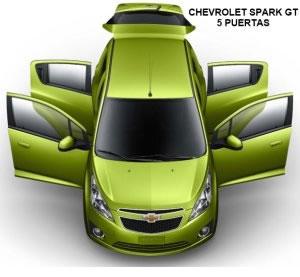 Chevrolet Spark, Chevrolet Spark GT y Daewoo Matiz