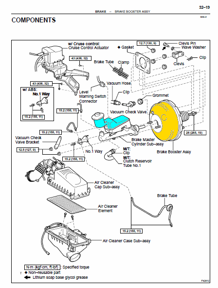 manual de frenos del toyota corolla