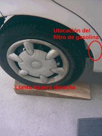 191 D 243 Nde Queda El Filtro De Gasolina