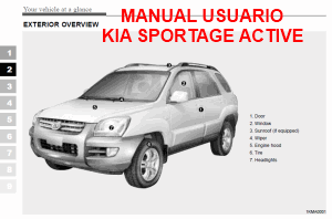 Manual de usuario Kia Sportage 2005