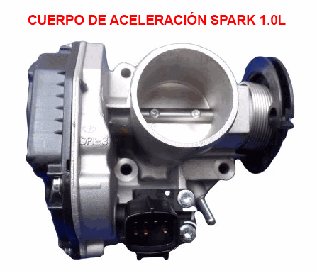 Cuerpo De Aceleraci 243 N Chevrolet Spark Main Throttle Idle