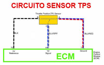 Sensor Tps Throttle Position Sensor